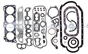 BRAND NEW Honda Isuzu 2.6 4ZE1 SOHC 8 Valves Full Cylinder Gasket Set