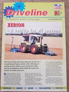 Appris Club Claas Driveline Newsletter No.14 Novembre 1997-afficher Le Titre D'origine De Nouvelles VariéTéS Sont Introduites Les Unes AprèS Les Autres