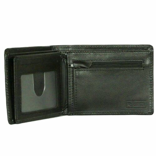 note and Coin ~ Original black Rip Curl Leather Wallet with CC