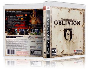 Details about Elder Scrolls IV: Oblivion Replacement PS3 Cover and Case  NO  GAME!!