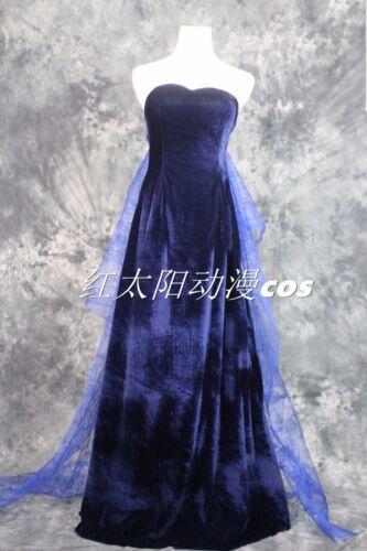 Princess Anastasia Dress costume blue dress gown cosplay costume custom made