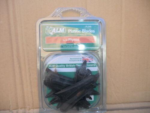 ALM FL245 PLASTIC LAWNMOWER BLADES 1 PACK OF 10 NEW