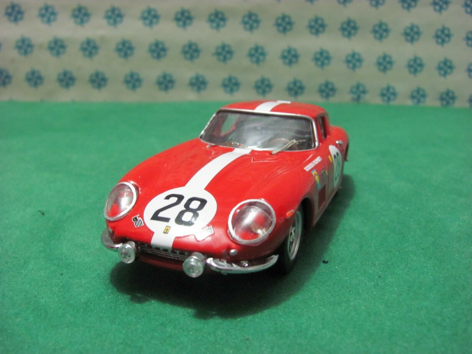 Ferrari  275 Gtb 3800cc. Coupé P.Farine   le Mans 1967   -1 43 Best Model 9413  100% garantie d'ajustement