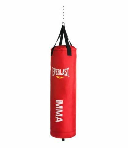 MMA Polycanvas Punching Bag 70 LBS Heavy Boxing Hanger Included Adjustable Chain