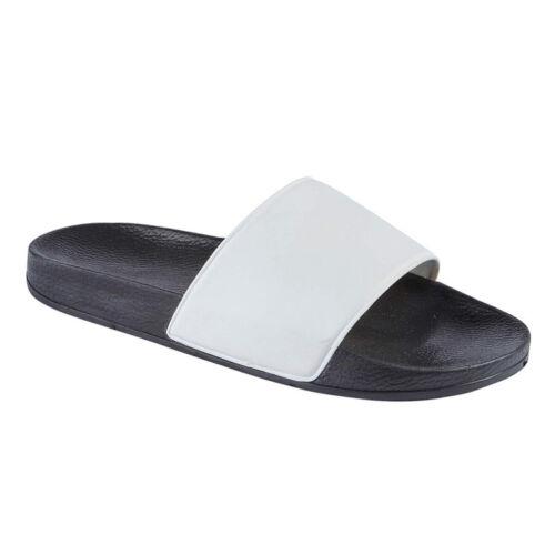 Womens Summer Beach Ladies Holiday Sliders Flip Flops Shower Sandal Shoes Sz 3-8