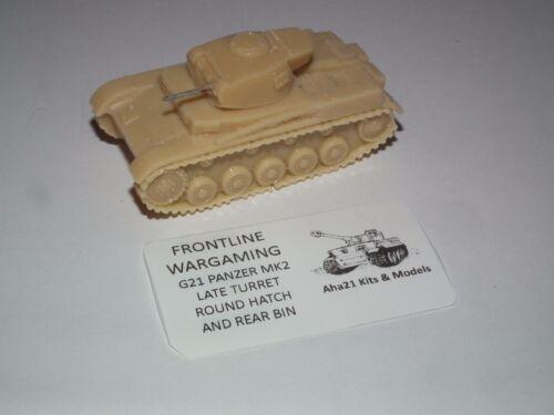 WWII German Panzer MkII tank Resin Model Kit-G21