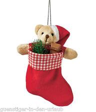 Nikolaussocke Nikolausstiefel Stiefel Weihnachtsstiefel Weihnachtssocke Teddy