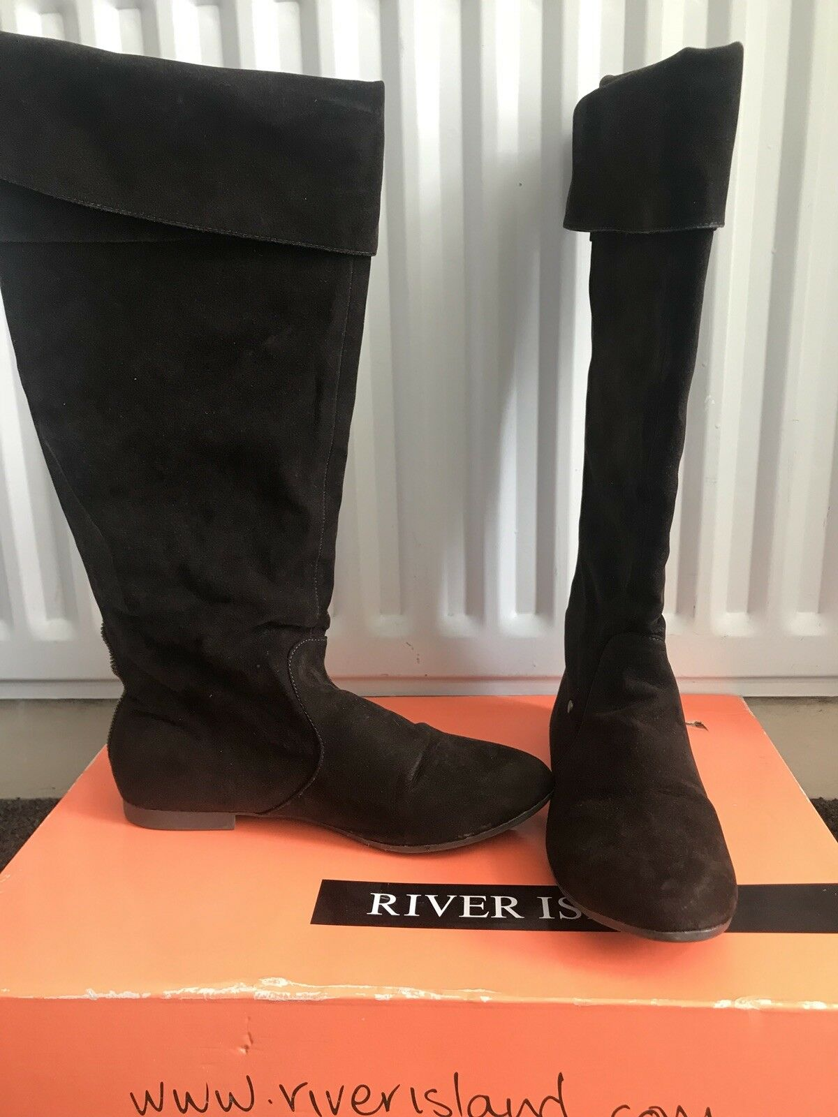 River Island Knee High Boots 6