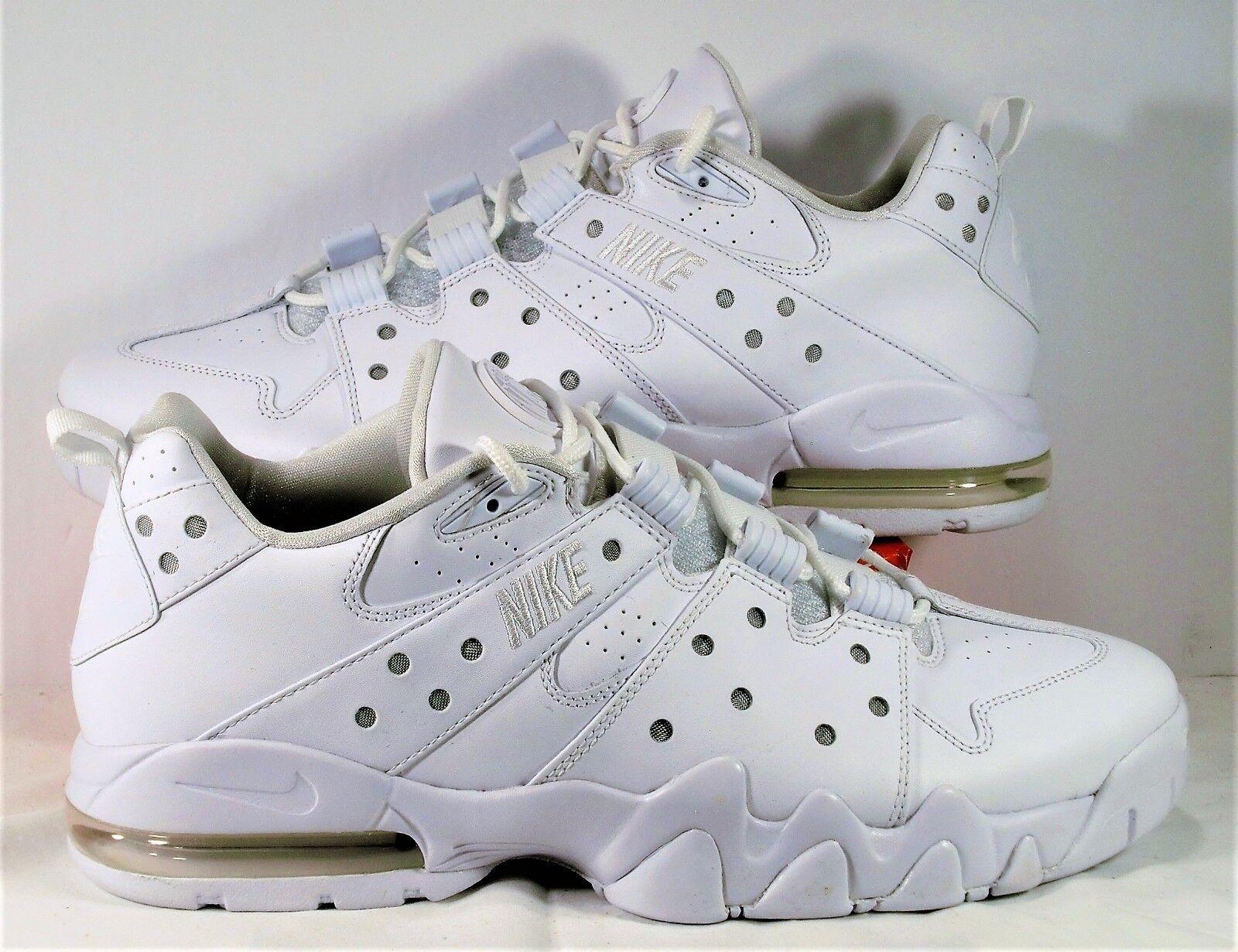 Nike Air Max 2 94 Low CB Charles Bakley Triple White Sz 13 NEW 917752 100