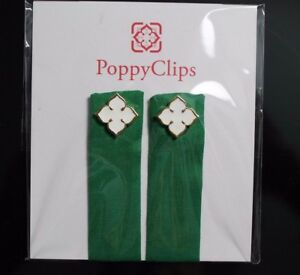 PoppyClips Magnetic Clothing Accessory Red with Silver Poppy LuLaRoe