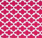 Decorator~Upholstery ~ Wrought Iron ~ Deep Pink ~ Fabric ~1/4 yard