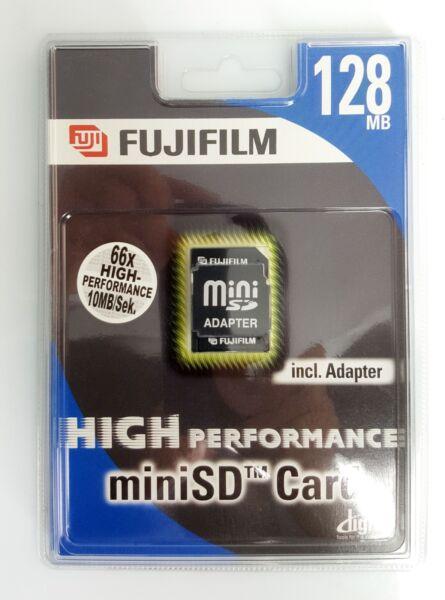 Fujifilm Carte Mini Sd 128 Mb Promouvoir La Production De Fluide Corporel Et De Salive