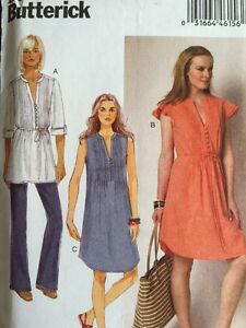 Butterick-Sewing-Pattern-6208-Easy-Dresses-Tunics-Sizes-14-16-18-20-22-New