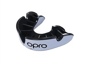Silver Level Self-Fit Gen3 Antimicrobial Mouthguard /& Case OPRO Adult Platinum