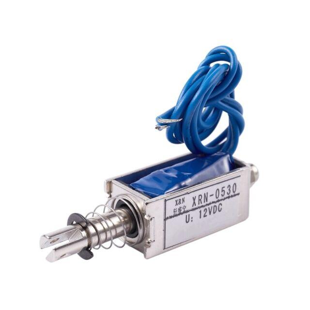 5X Magnet Elektromagnettyp Push// Pull 10 mm DC 12V 2.1kg Kraft DK N6G6