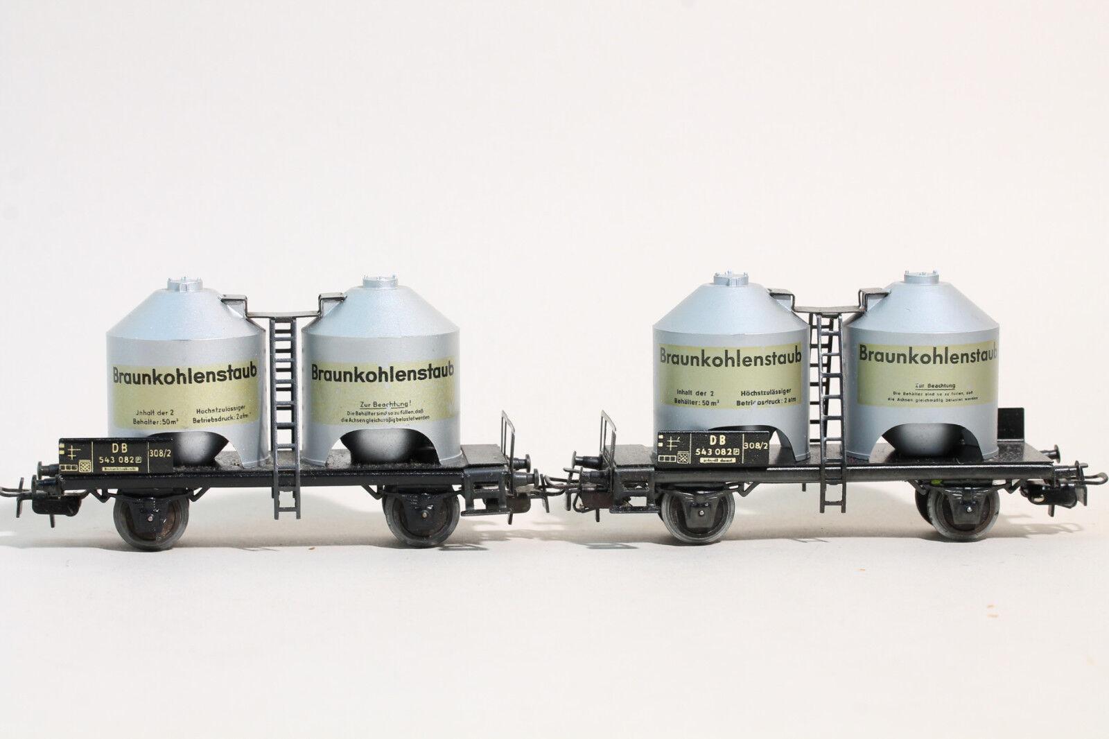 2 St 308 2 (4511) Kohlenstaubwagen Märklin    50er Jahre  | Gewinnen Sie das Lob der Kunden  ac898f