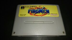 Nintendo-Super-Famicom-THE-FIREMEN-Fire-men-Japan-SFC-SNES