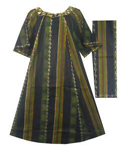 Womens-Dashiki-Dress-African-Kente-Traditional-Maxi-Caftan-Kaftan-Wear-1X-50-034