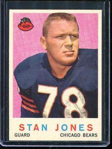 1959 Topps Football # 96 Stan Jones NM-MT Near Mint to ...