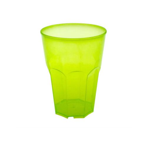 Set 25 Stück Cocktailglas Kunststoff PP Mehrweg Glas Plastik DoimoFlair