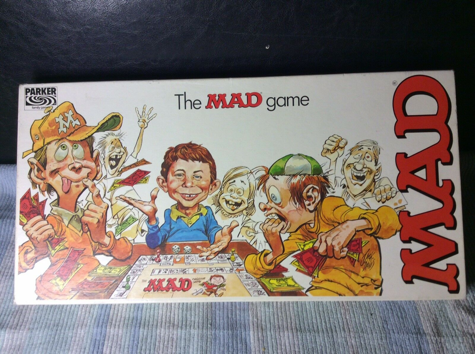 The Mad Magazine Game Vintage Board Game by Parker Bredhers Complete 1979