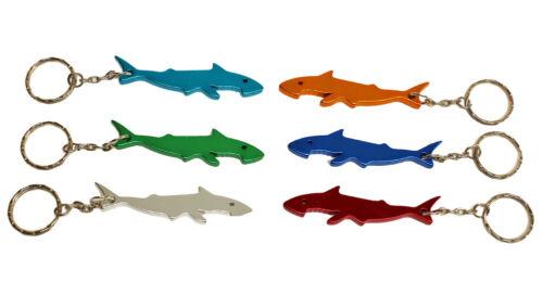 Schlüsselanhänger Hai Flaschenöffner Schlüssel Anhänger Aluminum Neu Farbwahl