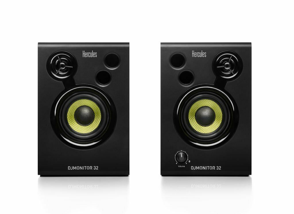 Hercules DJMonitor 32 Active Studio Monitors