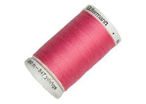 NEW 1 Maroon GUTERMANN 100/% polyester Sew-All thread 547 yard Spool