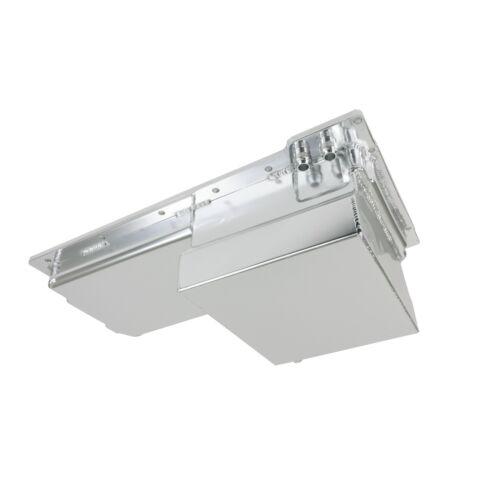LSX Fabricated Aluminum 7-Quart Rear Sump Oil Pan LS1 LS2 LS3 LS6  CLEAR ANODIZE