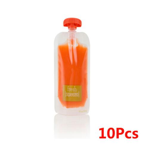 Infant Baby Food Feeding Fresh Squeeze Station Maker Homemade Dispenser BPA