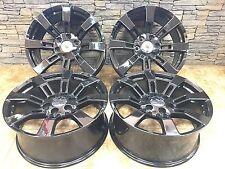 "20"" 20  Inch GMC Yukon Denali Black Wheels Rims OEM Replacement 5661  4set CK375"