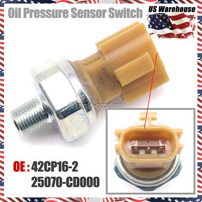 New Oil Pressure Sensor Switch For 05-07 Infiniti QX56 Nissan Frontier25070CD00A