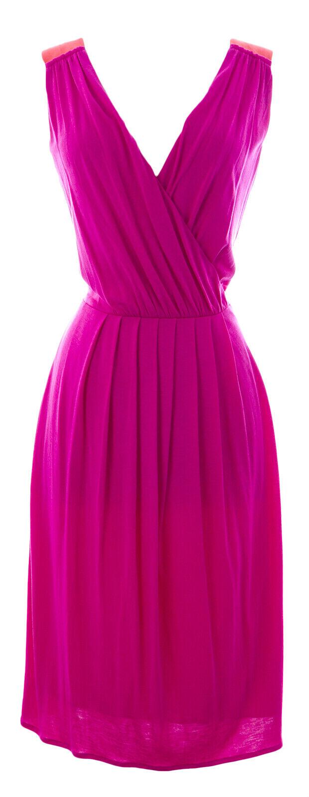 BODEN Woherren Magenta Sleeveless Sheath Dress WH651 US Sz 10R  NWOT