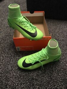 Image is loading Kids-jR-Mercurial-Superfly-V-FG-Football-Boots-