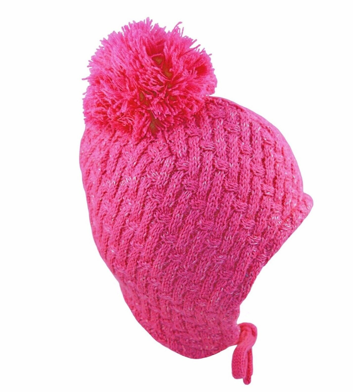 maximo Baby-Girls Ear Flaps Plus Strings Hat