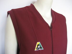 Domino-Sarah-Zip-Vest-Maroon-Clearance-HALF-PRICE-Now-only-37
