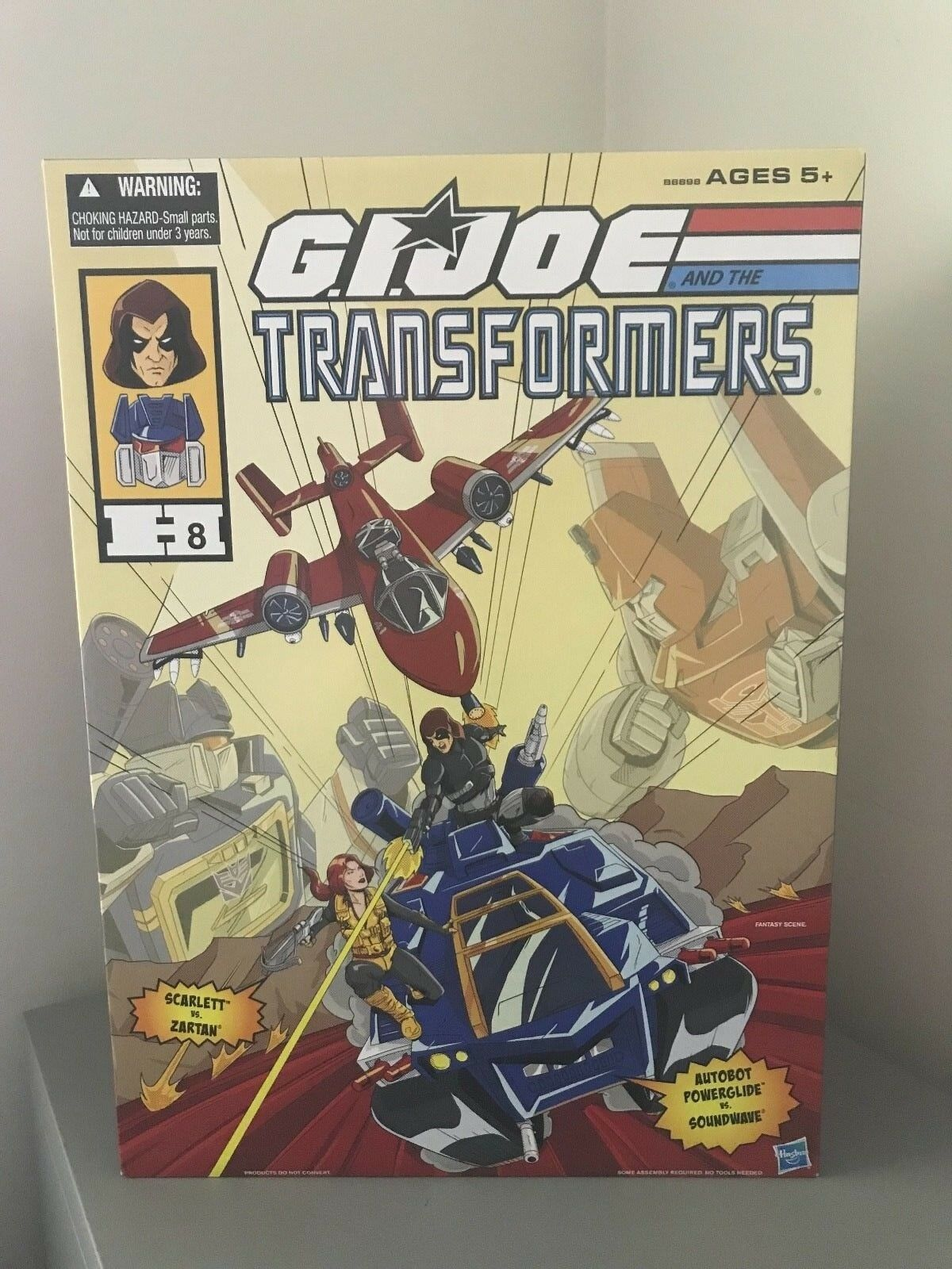 GI Joe & Transformers SDCC 2016 w Soundwave, Powerglide, Zartan - Rare