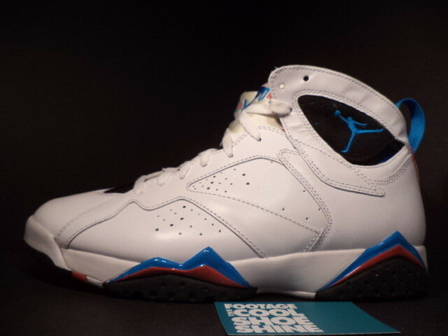Nike Air Jordan VII 7 Retro WHITE WHITE WHITE ORION blueE BLACK INFRARED RED 304775-105 11.5 30f29e