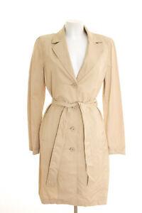 best cheap 09a6a 40ae8 Details zu ZARA Mantel Gr. L Damen Sommermantel Trenchcoat Cremebeige  Baumwolle