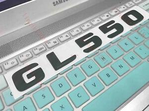 Matte Black Number Letters Car Emblem Sticker for Mercedes Benz GL Class GL550
