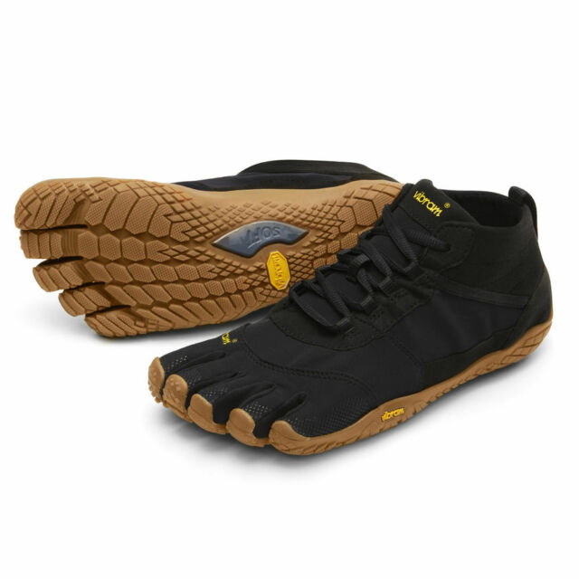 Vibram FiveFingers V TREK Mens Black Gum 18M7401 Outdoor Hiking Shoes