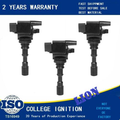FIT 2003-2006 Kia Sorento 3.5L V6 27300-39800 OE# Quality Ignition Coil 3PCS