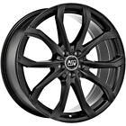 Cerchi in lega MSW 48 8.5x20 5x112 Et30 Volkswagen Passat Matt Black 180