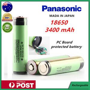 Panasonic Ncr 18650 B 3400mah Lithium Li Ion Protected