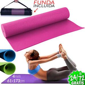 Esterilla-para-Yoga-Gimnasia-Colchoneta-de-Fitness-Pilates-deporte-Alfombra-Mat