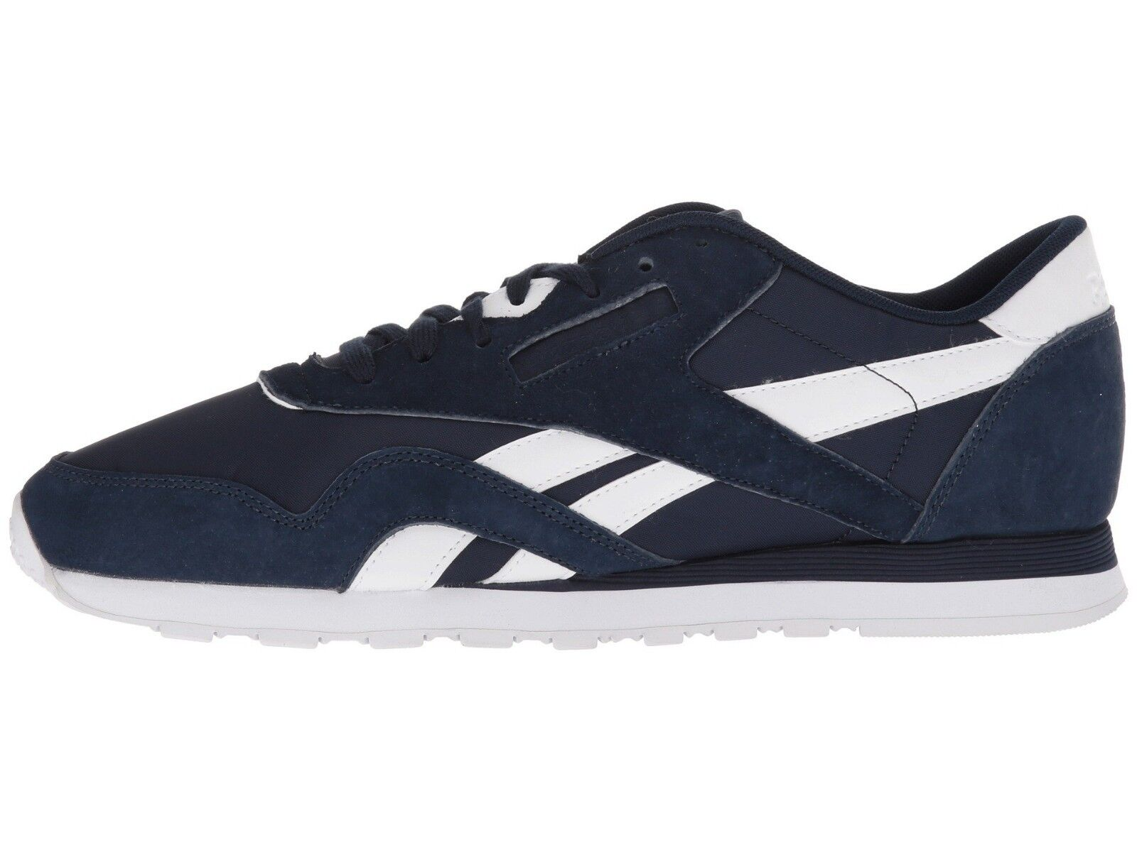 Reebok Homme CL NYLON PN Chaussures Navy/Blanc BS9804 c