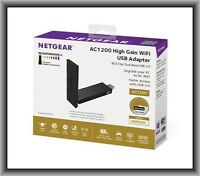 Netgear Ac1200 (a6210-10000s) High Gain Usb Wi-fi Adapter, In Retail Box
