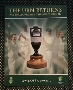 Australian-Stamps-2006-07-the-Urn-returns-Sheetlet-Presentation-Pack