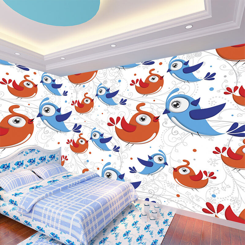 3D Birds Patterns 354 Wall Paper Wall Print Decal Wall Deco Indoor AJ Wall Paper