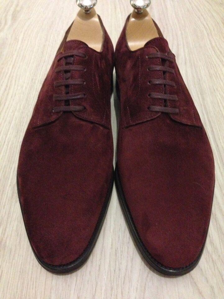 JOHN LOBB Zapatos Penzance 9 Extra Ancho EE. UU. 9.5
